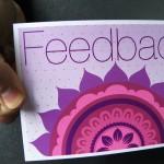 feedback card
